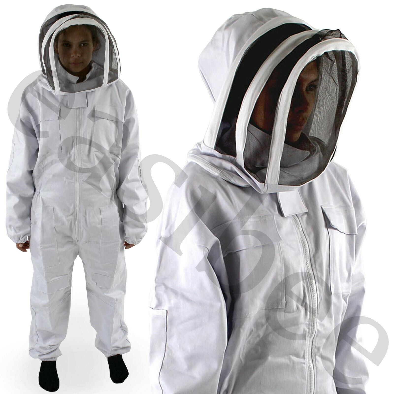 NEW Free shipping! size XXL Free gloves Heavy Duty Full Beekeeping Suit